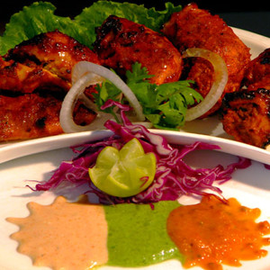 Chicken Ginger Corriander Garlic Tikka