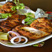 Chicken Qalmi Kebab