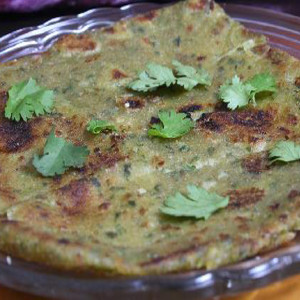 Corriander Chilley Garlic Paratha